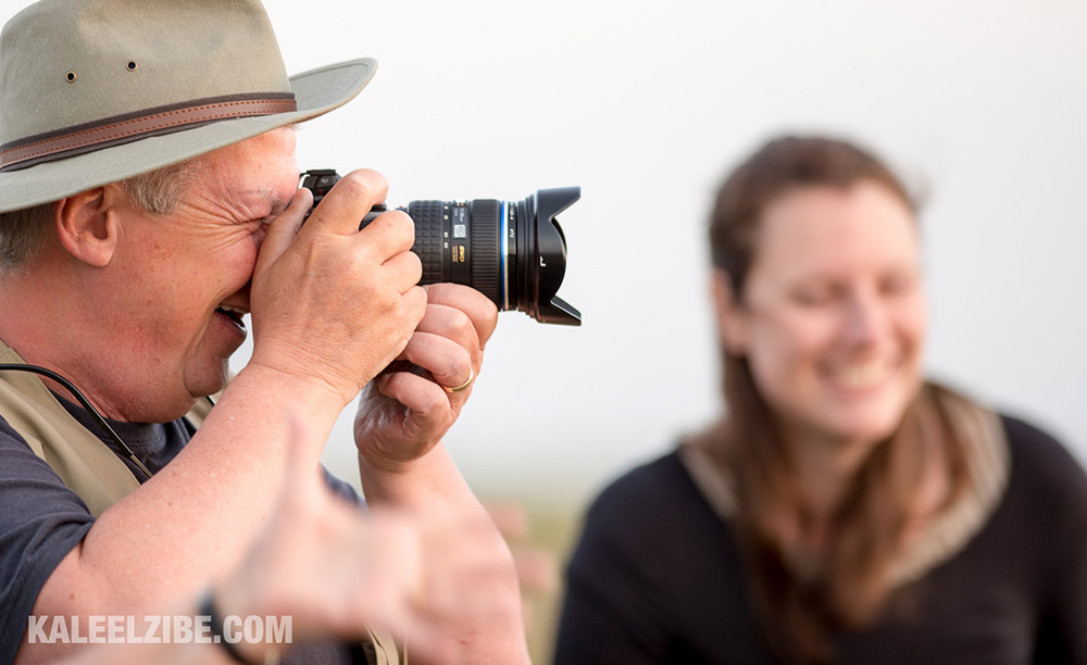 African Photography Safaris, guests enjoying the experience