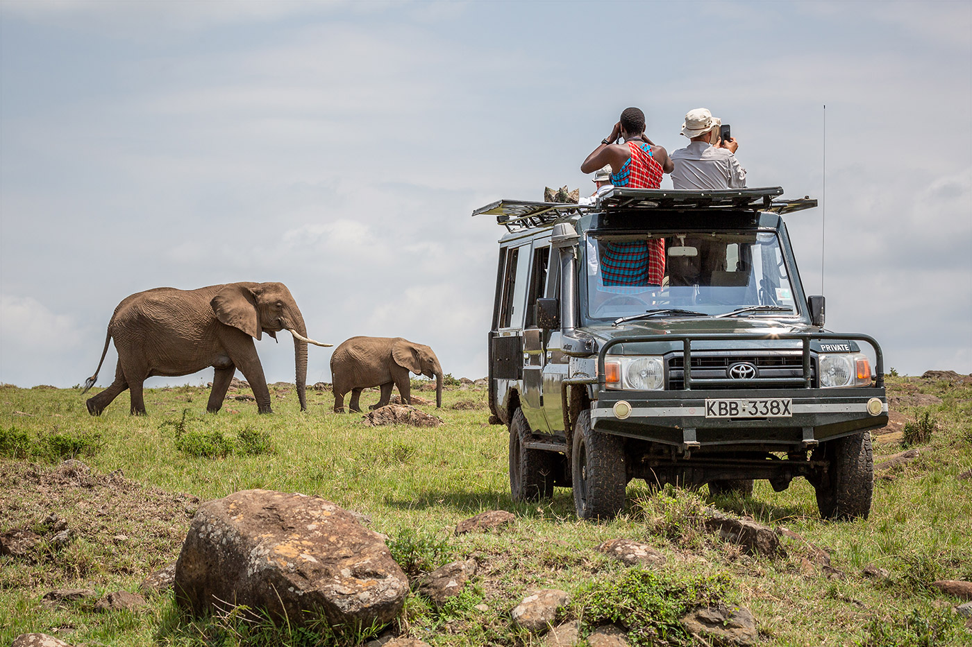 Photographing Elephants in the Mara North Conservancy with African Photography Safaris